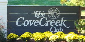 Cove Creek Club entrance sign